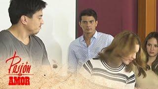 getlinkyoutube.com-Pasion De Amor: Gabriel slaps Jamie