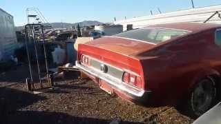 getlinkyoutube.com-Rare cars at a wrecking yard in Phoenix Az