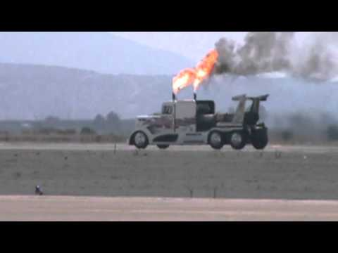 2011 MCAS Miramar Airshow Shockwave Jet Truck. 9/30/2011