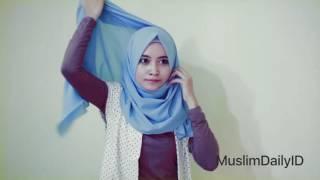 getlinkyoutube.com-Tutorial Hijab Simple Untuk Kuliah, Kampus & Sehari Hari
