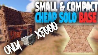 getlinkyoutube.com-Rust Base Building   BEST Cheap Compact Solo/Starter Base! (High Pop-Vanilla Servers)