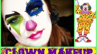 getlinkyoutube.com-Easy Clown Makeup Tutorial!