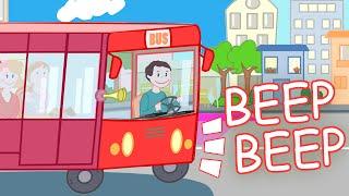 getlinkyoutube.com-WHEELS ON THE BUS Nursery Rhyme with Lyrics