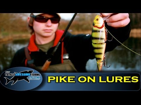 How to catch Pike on lures - The Totally Awesome Fishing Show