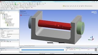 getlinkyoutube.com-ANSYS 15 Tutorial - Frictional Contact & Bolt Pretension
