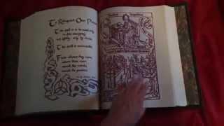 getlinkyoutube.com-Lapulia Studios 'Charmed Book Of Shadows' Replica Flip Through