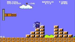 getlinkyoutube.com-Extra Characters in Super Mario Bros (Sonic Boll)