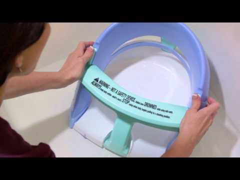 Dreambaby Premium Bath Seat - Blue/Aqua