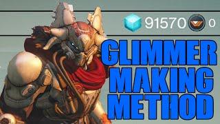 Destiny - 10,000 Glimmer/15min & Rank Up Method - Glimmer Money Farming Trick
