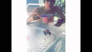 getlinkyoutube.com-Hayes Grier Rapping - Snapchat