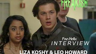 getlinkyoutube.com-Freakish: Roundtable with Leo Howard and Liza Koshy