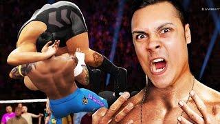 getlinkyoutube.com-BREAKING THE WWE WRESTLING RING :O (WWE 2K16 Funny Moments)