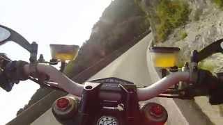 getlinkyoutube.com-ducati streetfighter 848 termignoni Vietri-Positano
