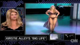 "getlinkyoutube.com-Kirstie Alley discusses her 2006 appearance on ""The Oprah Winfrey Show"" in which she wore a bikini."