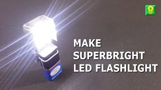 getlinkyoutube.com-How to make SuperBright LED Flashlight