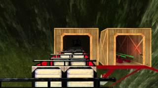 getlinkyoutube.com-Magic Mountain NoLimits 2 Coaster