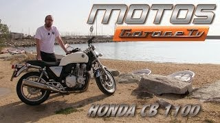 getlinkyoutube.com-Motos Garage Tv : Test Honda CB1100