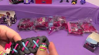 getlinkyoutube.com-BATMAN and MONSTER HIGH (2015) FULL SET Happy Meal Review + SHOUT OUTS! by Bin's Toy Bin