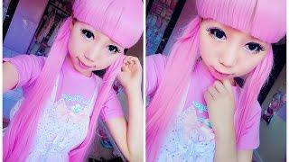 getlinkyoutube.com-How to Look Like a Doll - Kawaii Enlarge Doll Eye Makeup Tutorial ^^
