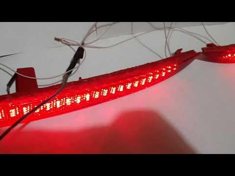 LED катафоты в бампер Honda Accord