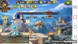 getlinkyoutube.com-Magic Rush Heroes: Ilha cruzada modo elite