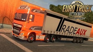 getlinkyoutube.com-ETS2 | A prueba DAF XF EURO 6 Super Space | Muebles 16 tons | Euro Truck Simulator 2