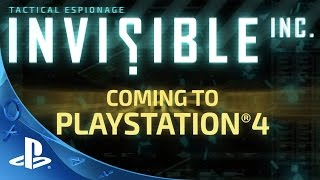 getlinkyoutube.com-PlayStation Experience 2015: Invisible, Inc. Console Edition - PSX Trailer | PS4