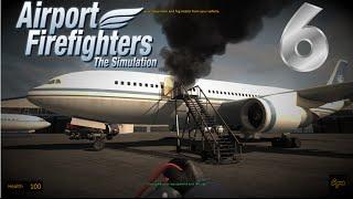 Airport Firefighters - The Simulation #6 - Fogo no avião