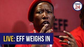 WATCH LIVE: EFF host media briefing following Zuma's resignation