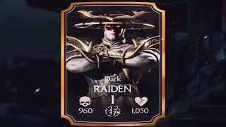 getlinkyoutube.com-Mortal Kombat X (iOS) - Dark Raiden Challenge - Battle 5: Dark Raiden Boss Fight (Normal Difficulty)