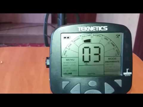 Металлоискатель Teknetics Gamma 11