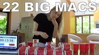 getlinkyoutube.com-Eating 22 Big Macs in One Sitting!
