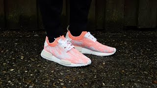 Adidas Nmd Red Camo On Feet