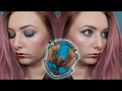 The Hogwarts Houses: RAVENCLAW | Makeup Tutorial