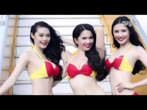 VTC14_Vietjet Air lên tiếng về bộ ảnh bikini của Ngọc Trinh