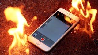 getlinkyoutube.com-Burning The iPhone 6 Plus - Molotov Cocktail Edition
