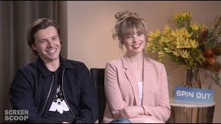 SPIN OUT | Junket Interview With Xavier Samuel & Morgan Griffin
