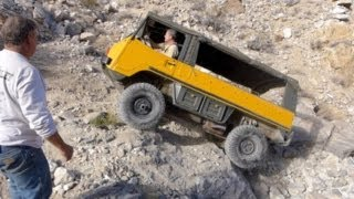 getlinkyoutube.com-Defense Mine / Cummings Cutoff in a Pinzgauer 710M