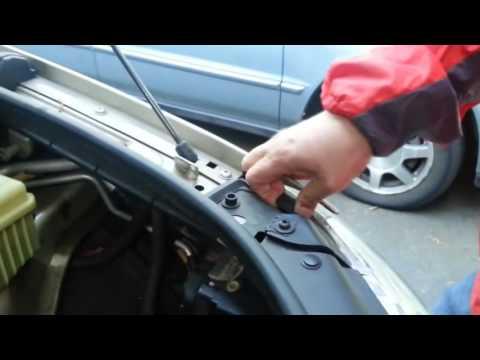 Как снять фары на AUDI Q7