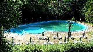 getlinkyoutube.com-Отдых в Лумшорах летом. Бассейн с минеральной водой. Карпаты