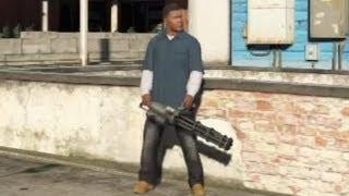 getlinkyoutube.com-★ GTA 5 - How To Get a Minigun!