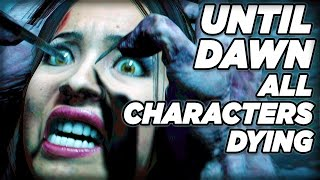 getlinkyoutube.com-Characters Deaths **SPOILERS!!!** - Until Dawn
