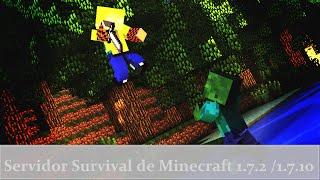 getlinkyoutube.com-Servidor Survival de Minecraft 1.7.2 /1.7.10