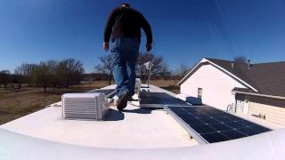 getlinkyoutube.com-HDTV For Our RV, King Jack Antenna Install - Nomadic Native