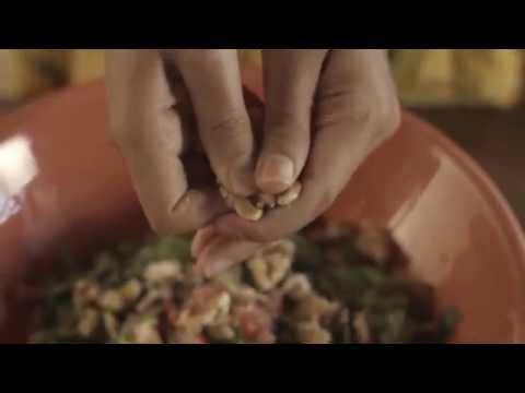 ( @3almezan | مطبخ ميزان ٨ | سلطة الجرجير )
