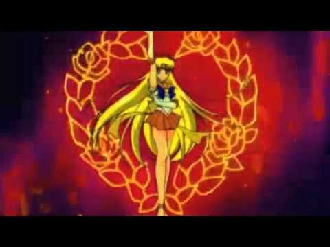 Sailor Venus Transformations & Attacks English