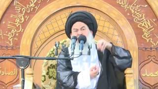 شفاء أحد جرحى الحشد الشعبي بتراب قبر الحسين عليه السلام