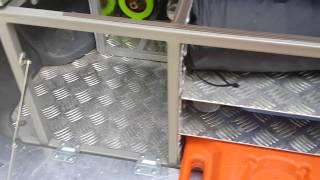 getlinkyoutube.com-Спальник в багажнике Prado 95