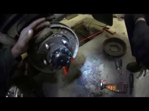 Стояночный тормоз УАЗ Патриот с 13 го. года Техобслуживание и регулировка
