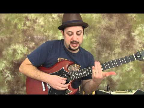 Learn Guitar - Pentatonic Scale Patterns - 01 Guitar